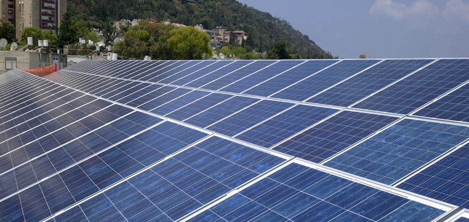 מערכת סולארית מסחרית – חנה סנש חיפה