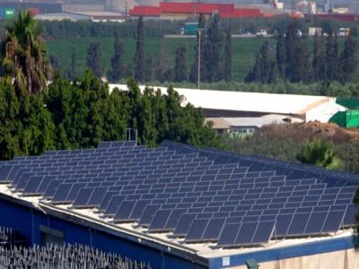 מערכות סולאריות בגודל בינוני – 625 קילו וואט, מושב בני דרום