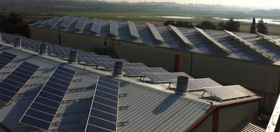 מערכת אנרגיה סולארית בגודל בינוני – 625 קילו וואט, קיבוץ יקום
