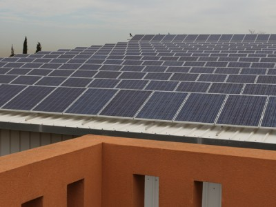 מערכת סולארית מסחרית – מושב אורות