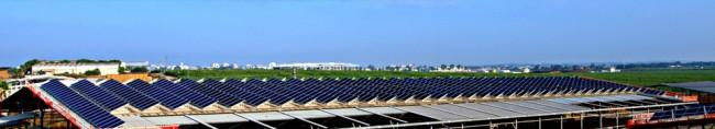 התקנת מערכת סולארית בגודל בינוני