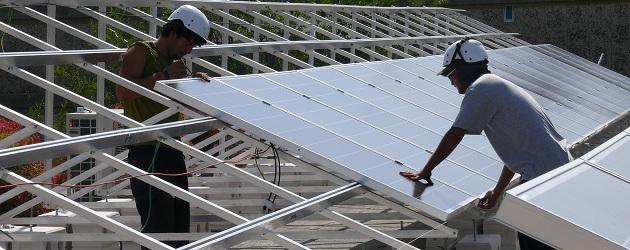 מערכת סולארית מסחרית בית ספר דנמק ירושלים