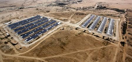 מערכת אנרגיה סולארית בגודל בינוני – 2 מגה וואט, קיבוץ משאבי שדה