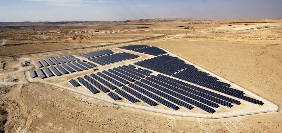 מערכת אנרגיה סולארית בגודל בינוני – 4 מגה וואט, מצפה רמון