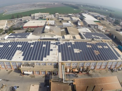 מערכת אנרגיה סולארית במונה נטו – 604 קילו וואט, עוף טוב