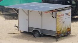 גנרטור סולארי של ענבר – פתרון נייד לאספקת חשמל באמצעות אנרגיה סולארית