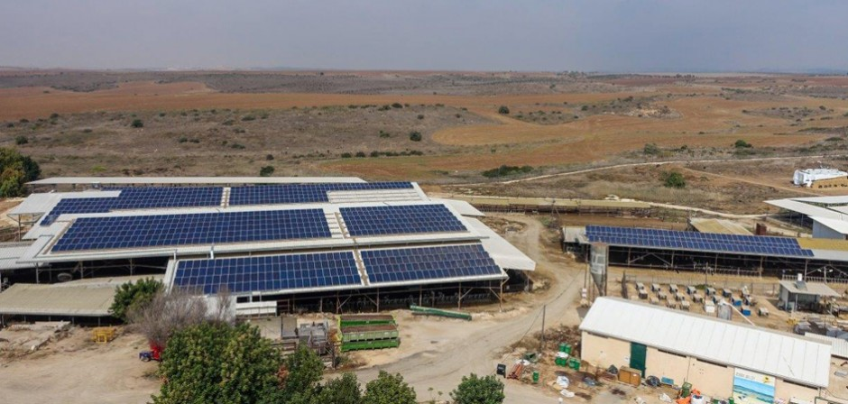 מערכת סולארית מונה נטו – גלאון – 350 קילו וואט
