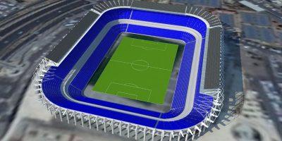 ענבר אנרגיה סולרית תקים מערכת סולארית על גג איצטדיון טדי
