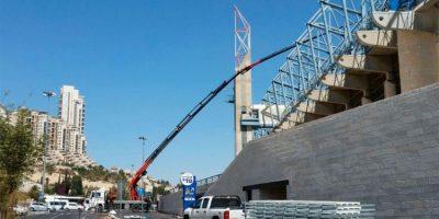 החלו העבודות להקמת המערכת הסולארית באיצטדיון טדי