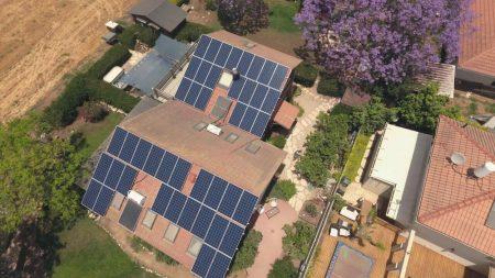מערכת סולארית ביתית – ניר בנים – 14 קילו וואט