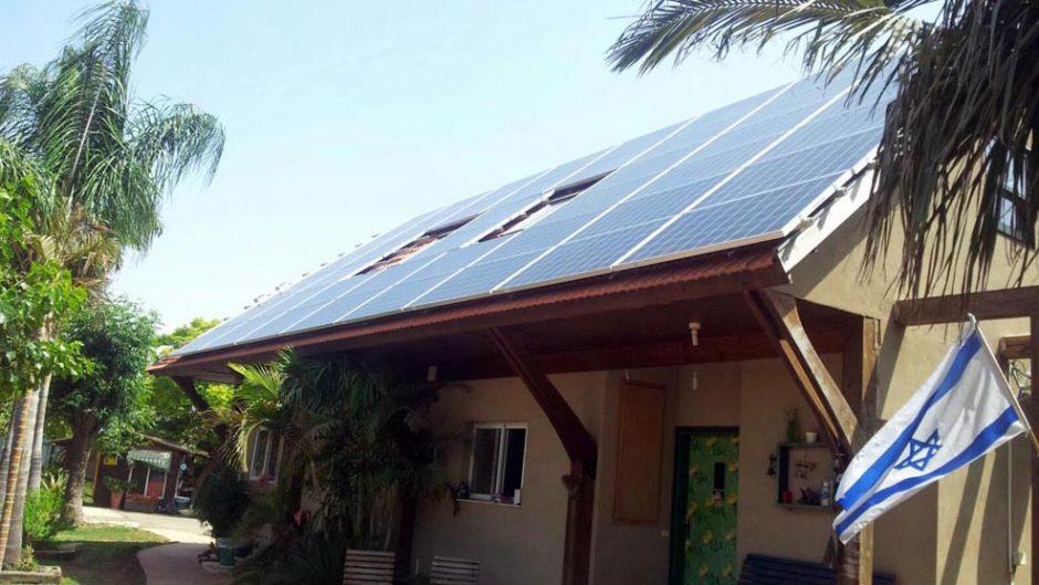 מערכת סולארית ביתית – ניר בנים – 15 קילו וואט