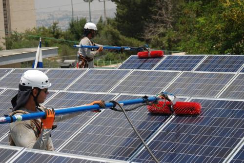 מערכת סולארית - שירות ותחזוקה