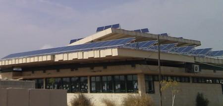 מערכת סולארית מסחרית – הספרייה העירונית שדרות