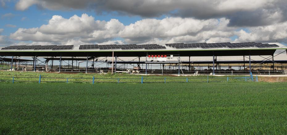 מערכת סולארית מסחרית - באר טוביה