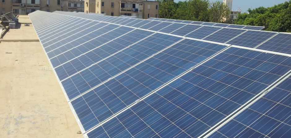 מערכת סולרית מסחרית – בית ספר אחדות באשדוד
