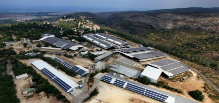 מערכת אנרגיה סולארית בגודל בינוני – 1.5 מגה וואט, קיבוץ ניר עציון