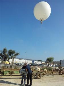 מערכת אנרגיה סולארית יקום - תמונות מבלון הצילום