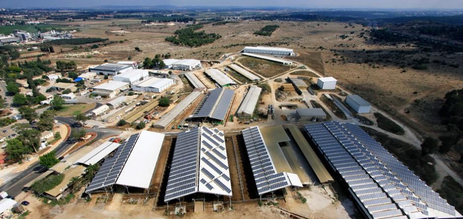 מערכת אנרגיה סולארית בגודל בינוני – 625 קילו וואט, קיבוץ מענית