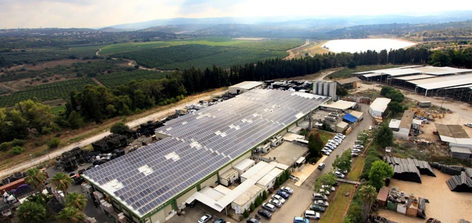 מערכת אנרגיה סולארית בגודל בינוני – 500 קילו וואט, קיבוץ מצר