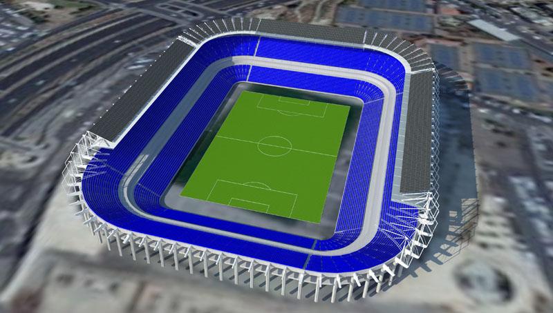 מערכת סולארית איצטדיון טדי