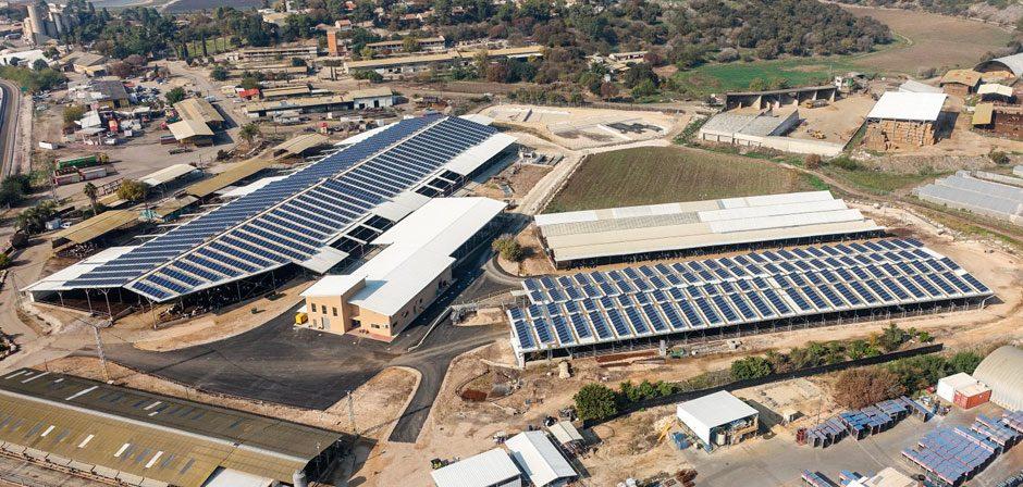 מערכת סולארית מונה נטו – שער העמקים, 691 קילו וואט