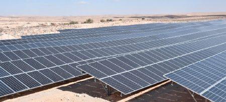 מערכת סולארית מונה נטו – מחנה רמון, 5 מגה וואט