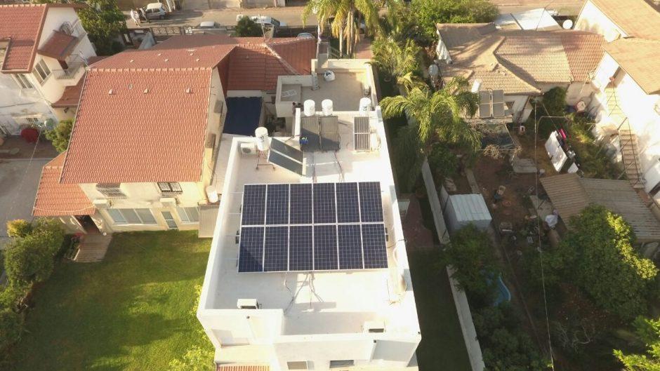 מערכת סולארית ביתית – רחובות – 4 קילו וואט