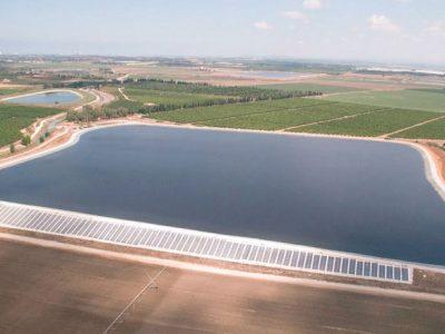 מערכת סולארית מונה נטו – מאגר השרון, 635 קילו וואט