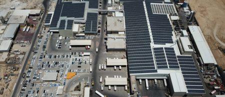 מערכת סולארית מפעל עוף עוז – 3 מגה וואט