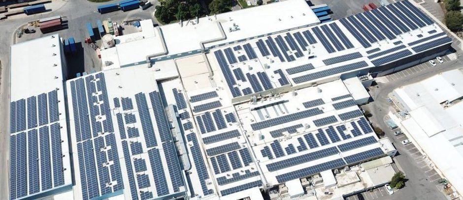 """מערכת סולארית מפעל שלא""""ג ומפעל האופטיקה – 1.5 מגה וואט"""