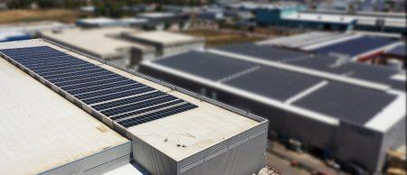 מערכת סולארית  מחסן מנדלבוים – 316 קילו וואט