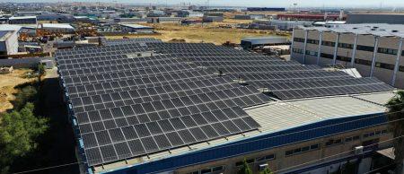 מערכת סולארית מפעל משכן התכלת – 281 קילו וואט
