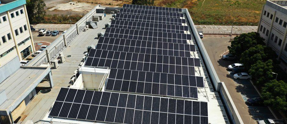 מערכת סולארית מפעל אוטומטיקה – 112 קילו וואט