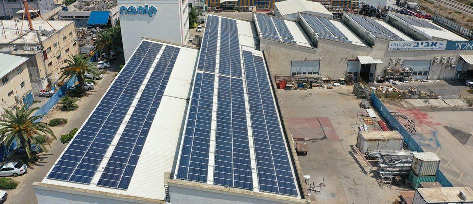 מערכת סולארית מפעל קומבה – 240 קילו וואט