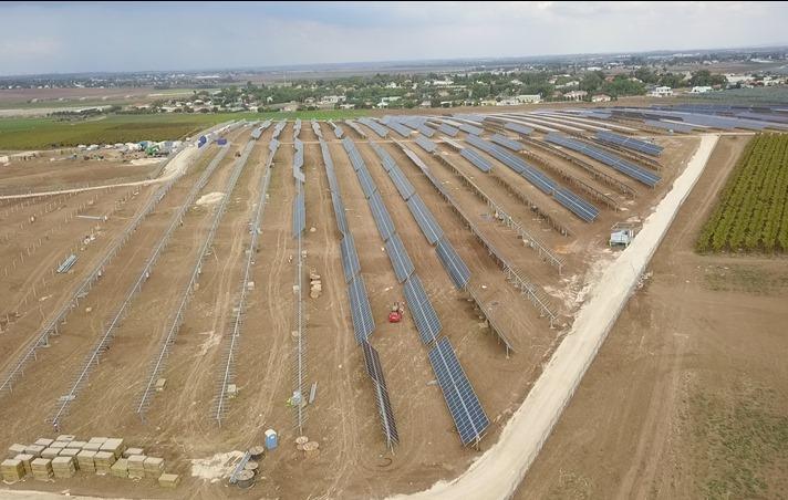הקמת מערכת סולארית על קרקע
